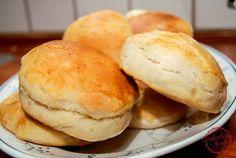comfortable food - yeast biscuits recipe