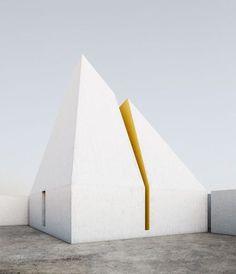 """Dans les boards archi : projet issu de la série """"Circus"""" 2012 de l'architecte Claudio Reis - Pinterest : les photos déco les plus épinglées - CôtéMaison.fr"""