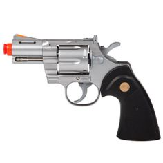 UHC Silver Snub FPS-120 Green Gas Airsoft Revolver