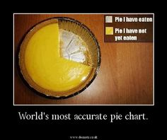 World's most accurate pie chart.
