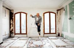 Christian Louboutin wears sneakers and not dress shoes!