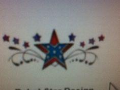 star w confederate flag