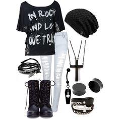 Clothes style punk rock, punk rock fashion, punk rock outfits, go Punk Rock Outfits, Punk Rock Fashion, Emo Outfits, Grunge Outfits, Gothic Fashion, Fashion Outfits, Womens Fashion, Lolita Fashion, Batman Outfits