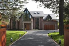 5 bedroom detached house for sale in Carrwood, Hale Barns - Rightmove. Home Building Design, Building A House, Style At Home, House Extension Design, House Design, House Cladding, Unusual Homes, Dream House Exterior, House Goals