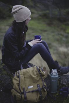The best coffee is sipped outside on a cold morning that's full of possibilities.