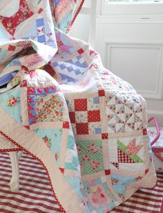 Helen Philipps: New Quilt and Some Snow