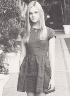 Elle Fanning is an amazing young actress.