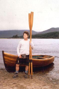 Hamish Clark going rowing