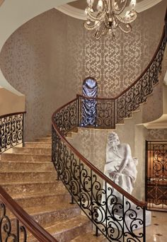 Wealth and luxury grand mansions castles dream homes amp luxury - Luxury Entrance Foyer On Pinterest Foyers Staircases