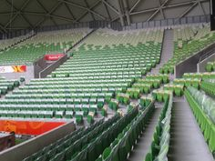 We put plastic pockets and cards on 30,000 seats!
