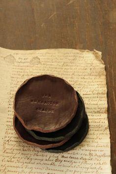 Leather Coaster - Round | IRRE