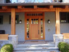 Front Door and pergola type porch roof | Doors and Windows ...