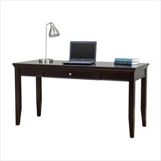 Martin Furniture Fulton Office Writing Desk in Rich Espresso - Best Home Office Desk, Best Desk, Martin Furniture, Office Furniture, Fulton Homes, Ireland Homes, Desk With Drawers, Writing Desk, Traditional Design