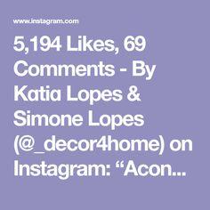 "5,194 Likes, 69 Comments - By Kɑtiɑ Lopes & Simone Lopes (@_decor4home) on Instagram: ""Aconchego🙌🏼👏🏼 Delícia de sala! Amei ❤️ @homeluxo #interior #interiordesign #arquitetura…"""