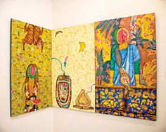 """Celebrating 50 years of Bangladesh's independence and institutional art education in Chattogram, Kala Kendra's exhibition, """"Charcha. Charja. Uddojapon"""" showcases the works of selected art graduates from Institute of Fine Arts, University of Chittagong."""