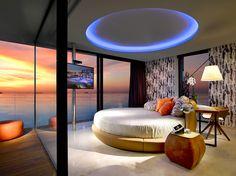 Habitaciones y suites en playa den Bossa, Ibiza.