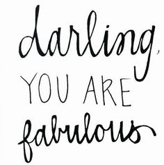 Yes YOU are..... <3