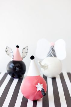 DIY Party Animal Pumpkins!