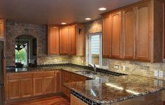 Granite Kitchen with Pass-through