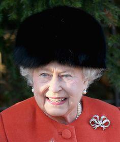 Queen Elizabeth, December 25, 2013
