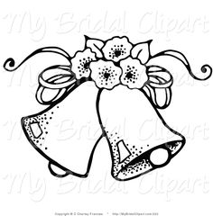 black and white wedding clipart wedding bells clip art and rh pinterest com wedding bells clip art free download wedding bells clip art free download