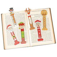 Santa & Friends Bookmarks - OrientalTrading.com