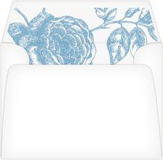 Floral Envelope Liner Rose Envelope Liner A Vintage  Envelope