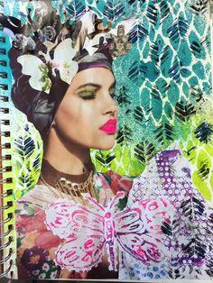 Carmen B. Norris: Art Challenge- 15 Days of 15 minute Mixed Media-15...