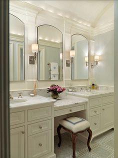 Master Bathrooms   Traditional   Bathroom   Boston   Jan Gleysteen  Architects, Inc Mirrors, Vanity
