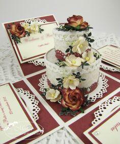 Moja papierowa kraina: Pudełko na rocznicę ślubu