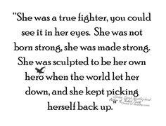 Become your own #hero - #fighter #strength : Jordan Sarah Weatherhead