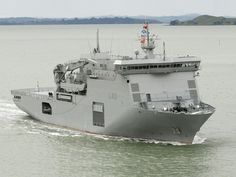 HMNZS Canterbury is a multi-role vessel (MRV) of the Royal New Zealand Navy. She was commissioned in June 2007, and is the second ship of the Royal New Zealand Navy to carry the name, the first ship having been a Leander class frigate. She is also New Zealand's first ever strategic sealift ship.