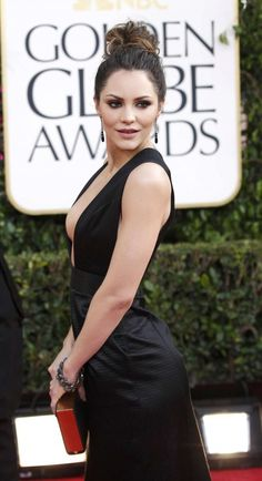 Katharine McPhee at 70th Annual Golden Globe Awards in Beverly Hills