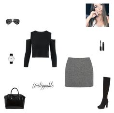 """""""unstoppable"""" by synclairel ❤ liked on Polyvore featuring T By Alexander Wang, Donald J Pliner, Rosendahl, Givenchy, Chanel, Yves Saint Laurent, Winter, cute, casual and ootd"""