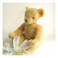 Handmade Jointed Plush Bear  Maple Bear by ClareBears on Etsy, £80.00