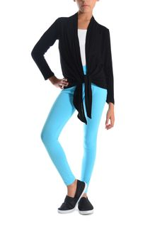 Dinamit Juniors Solid Color Leggings at Amazon Women's Clothing store: