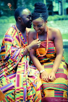 Ghanaian Traditional Wedding...Bisi <3