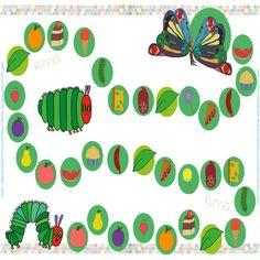 oruga.glotona.imprimible Preschool Education, Preschool Books, Activities For Kids, Spanish Activities, The Very Hungry Caterpillar Activities, Caterpillar Book, Chenille Affamée, Printable Preschool Worksheets, Educational Crafts