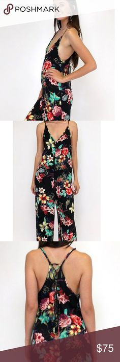 NWT Ark&Co tantalizing tropics jumpsuit I found it!!!! New with tags, corset back, adjustable straps, slip on style. I may never sell this... Ark & Co Pants Jumpsuits & Rompers