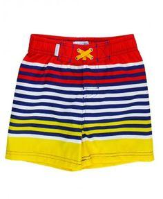 RuggedButts Shore Stripe Swim Trunks