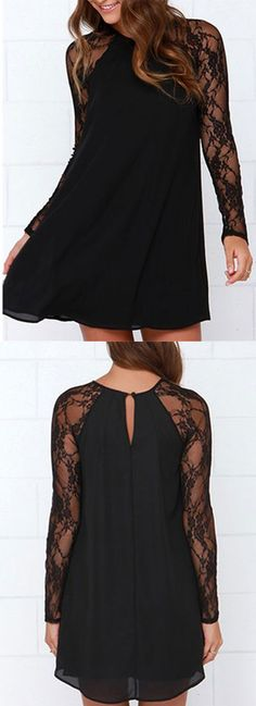 Sexy black lace dress -Choies holiday best picks for girls