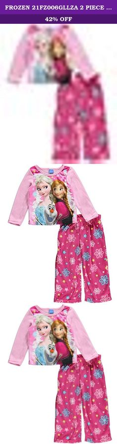 FROZEN 21FZ006GLLZA 2 PIECE PJ SET ASSTD 6. Your Frozen fan will love these flame resistant fleece pajamas for girls featuring Frozen's Princesses Elsa and Anna with their loveable sidekick, Olaf. These fleece jammies are cozy and warm and perfect for snuggling up to watch her favorite movie on the couch. Machine wash, easy care.