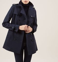 Blue Sara Mac | Macs | Coats and Jackets | Hobbs