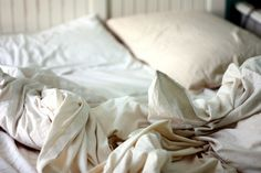 delight in clean rumpled sheets