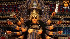 Durga Puja pictures of Singhi Park, Kolkata Durga Puja 2017, Durga Maa, Shiva Shakti, Durga Goddess, Navratri Puja, Durga Painting, Kolkata, Ganesha, Deities