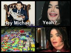 LOL!!! We know how much Michael loved Super soakers!!! XDDD