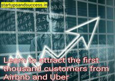 Learn to attract the first thousand customers from Airbnb and Uber One Thousand, I Am A Writer, How To Attract Customers, 3 Friends, Renting, Uber, 3 Months, Entrepreneurship, The One