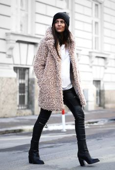 How to Chic: THE TEDDY COAT