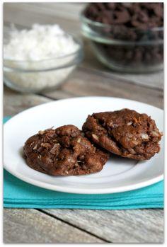 Chocolate Cookies with Coconut - TodaysMama.com