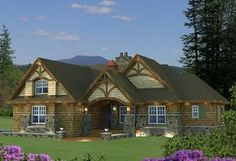 Mountain Plan: 1,858 Square Feet, 3 Bedrooms, 3 Bathrooms - 098-00269